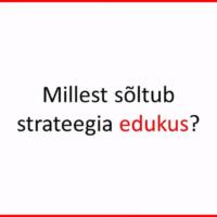 indrek saul strateegia ja usk strateegiasse
